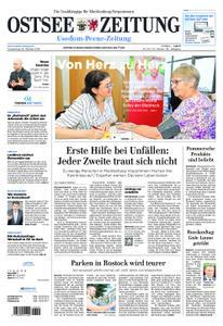 Ostsee Zeitung Wolgast - 18. Oktober 2018