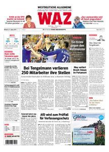 WAZ Westdeutsche Allgemeine Zeitung Oberhausen-Sterkrade - 16. Januar 2019