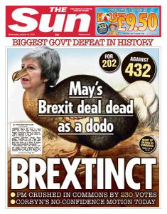 The Sun UK - 16 January 2019