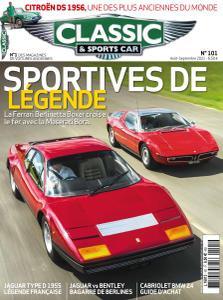 Classic & Sports Car France - Août-Septembre 2021