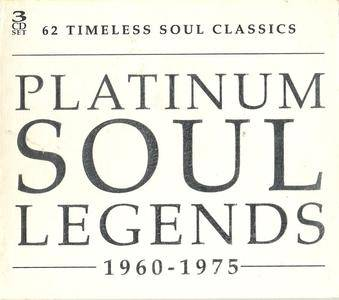 VA - Platinum Soul Legends 1960-1975 (3CD) (2002) {Warner Strategic Marketing}