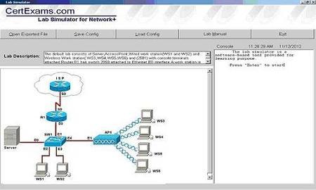 CertExams Network Simulator With Designer For CCNA 4 7 0