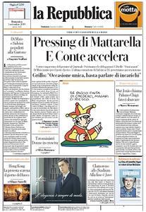la Repubblica - 1 Settembre 2019