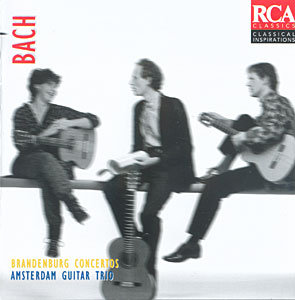 Amsterdam Guitar Trio - J.S. Bach: Brandenburg Concertos Nos. 2, 3, 5 & 6