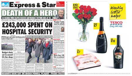 Express and Star City Edition – February 08, 2018