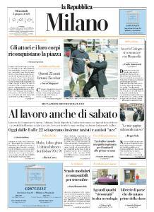 la Repubblica Milano - 3 Giugno 2020