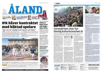 Ålandstidningen – 13 maj 2020