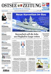 Ostsee Zeitung Wolgast - 08. Februar 2019