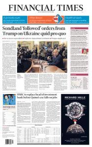 Financial Times Asia - November 21, 2019