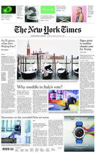 International New York Times - 03 March 2018