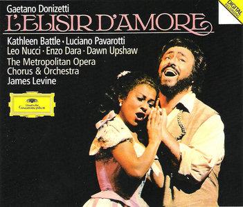 Gaetano Donizetti - L'Elisir d'Amore (Pavarotti, Battle, Nucci, Dara - Levine) [1990]