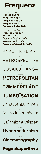 Frequenz Font Family