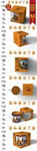 CM - Mug & Box Mock-up 1162929