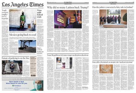Los Angeles Times – April 12, 2021