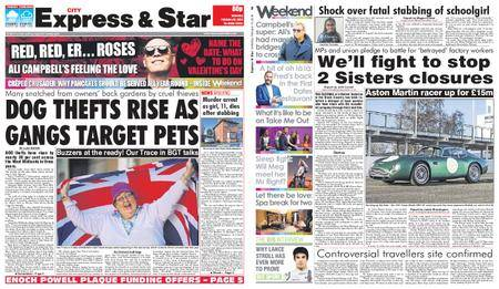 Express and Star City Edition – February 10, 2018