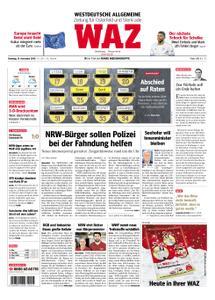 WAZ Westdeutsche Allgemeine Zeitung Oberhausen-Sterkrade - 13. November 2018