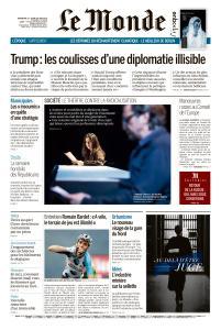 Le Monde du Dimanche 23 et Lundi 24 Juin 2019
