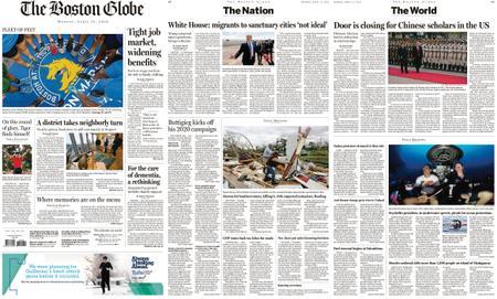 The Boston Globe – April 15, 2019
