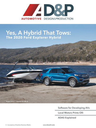Automotive Design and Production - August 2019