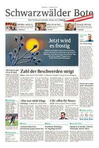 Schwarzwälder Bote Hechingen - 21. Januar 2019