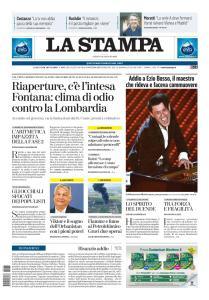 La Stampa Torino Provincia e Canavese - 16 Maggio 2020