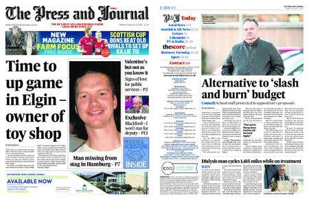 The Press and Journal Moray – February 12, 2018
