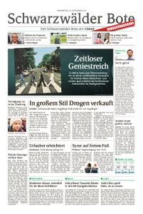 Schwarzwälder Bote Hechingen - 26. September 2019