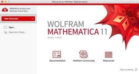 Wolfram Mathematica 11.0.1 (Win/Mac)
