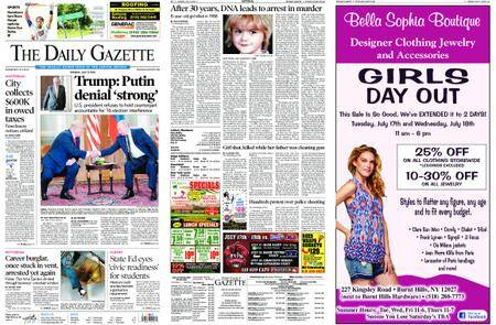 The Daily Gazette – July 17, 2018