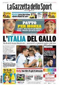 La Gazzetta dello Sport Roma – 06 settembre 2019