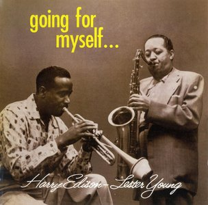 """Lester Young & Harry """"Sweets"""" Edison - Going For Myself (1958) {Poll Winners PWR 27294 rel 2012}"""