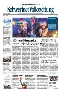 Schweriner Volkszeitung Hagenower Kreisblatt - 18. Dezember 2017