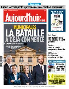 Aujourd'hui en France du Vendredi 29 Mars 2019