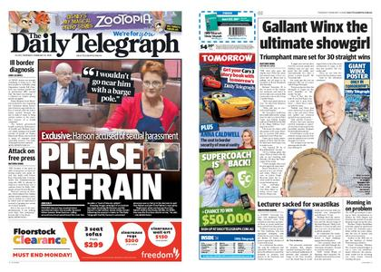 The Daily Telegraph (Sydney) – February 14, 2019