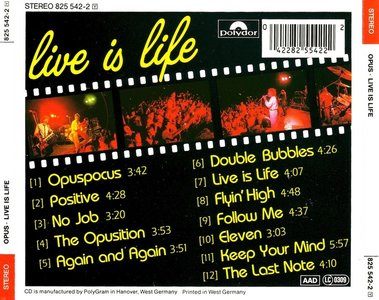 Opus - Live Is Life (1984)