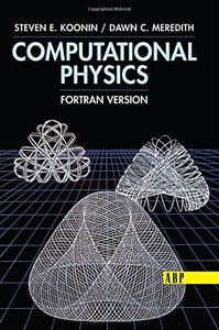 Computational Physics: Fortran Version (Repost)