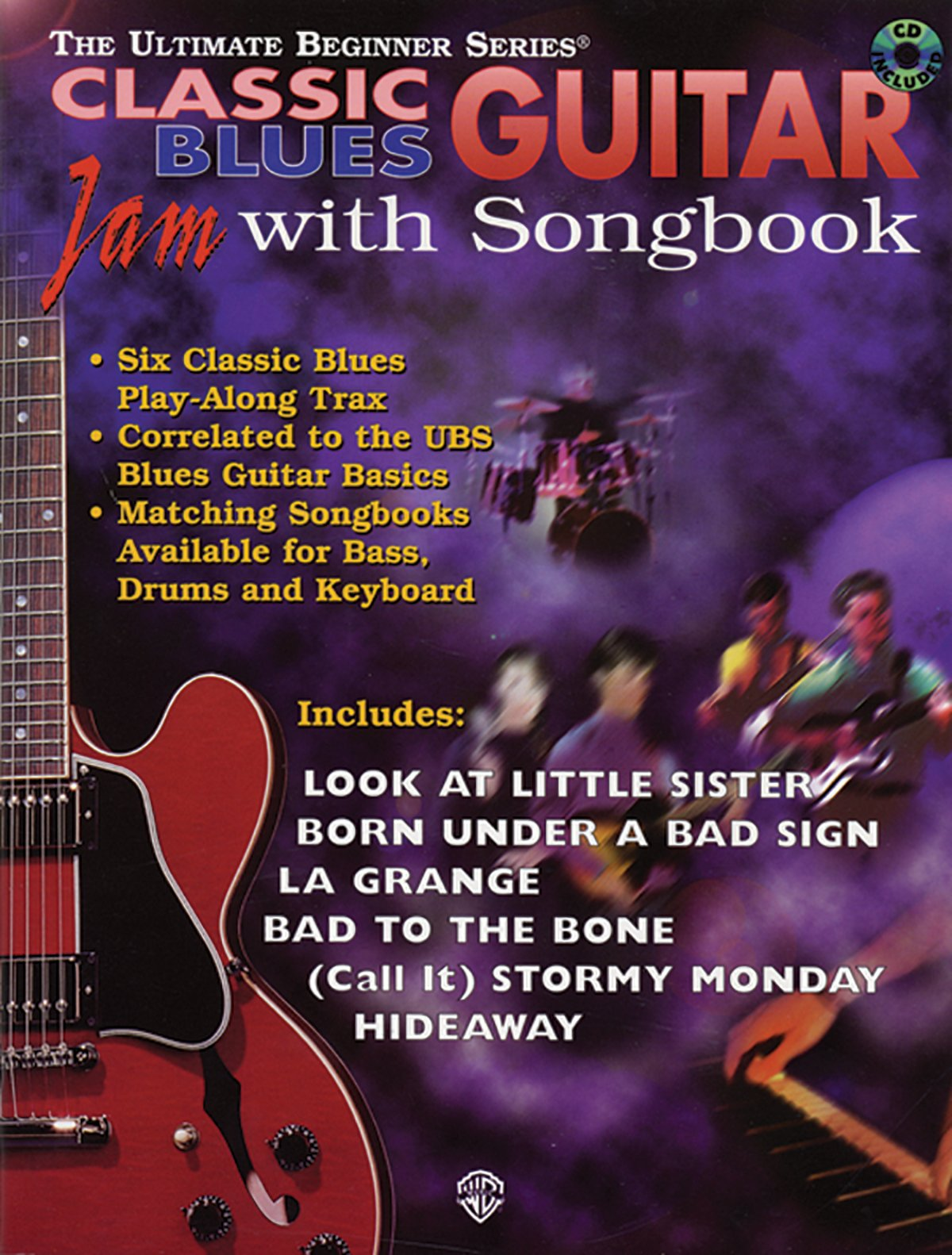 Classic Blues Guitar: Jam With Songbook by Alfred Publishing