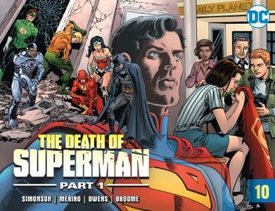 The Death of Superman, Part 1 010 2018 digital Minutemen