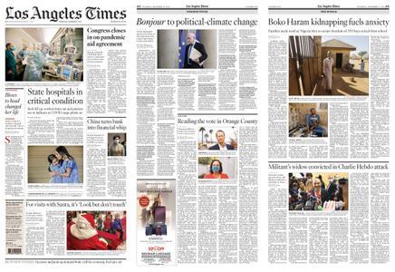 Los Angeles Times – December 17, 2020