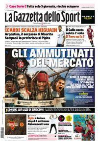 La Gazzetta dello Sport con edizioni locali - 12 Agosto 2017