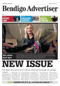Bendigo Advertiser - April 29, 2020