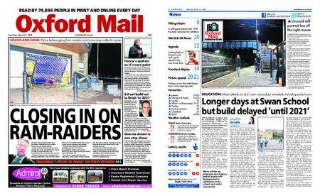 Oxford Mail – March 31, 2018