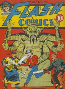 Flash Comics 22 (DC) (1941-10) (c2c) (A.S.S.)
