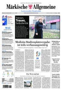 Märkische Allgemeine Luckenwalder Rundschau - 20. Dezember 2017