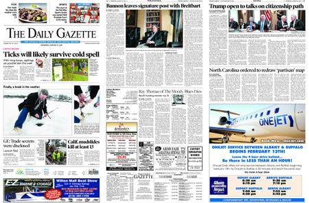The Daily Gazette – January 10, 2018