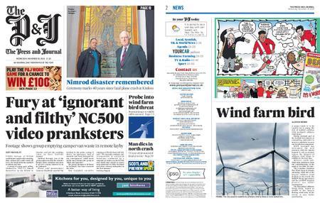 The Press and Journal Moray – November 18, 2020