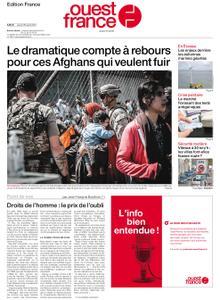 Ouest-France Édition France – 26 août 2021