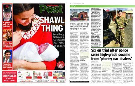 Nottingham Post – April 24, 2018