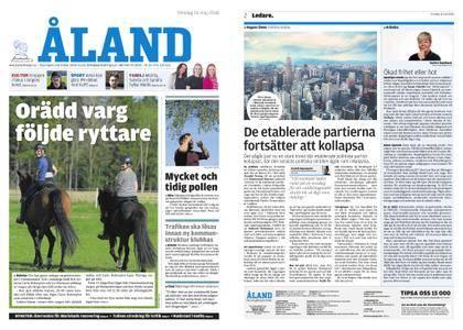 Ålandstidningen – 16 maj 2018