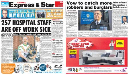 Express and Star Sandwell Edition – January 05, 2019
